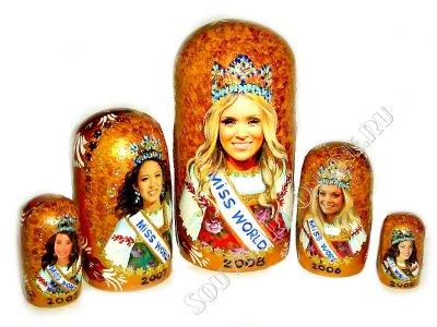 Еще одна работа на конкурс Мисс Мира
