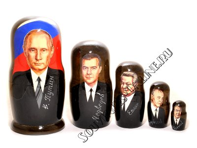 Матрешка Путин. Купить от 910 руб.